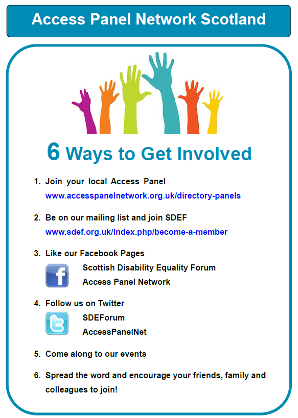 6 ways to get involved