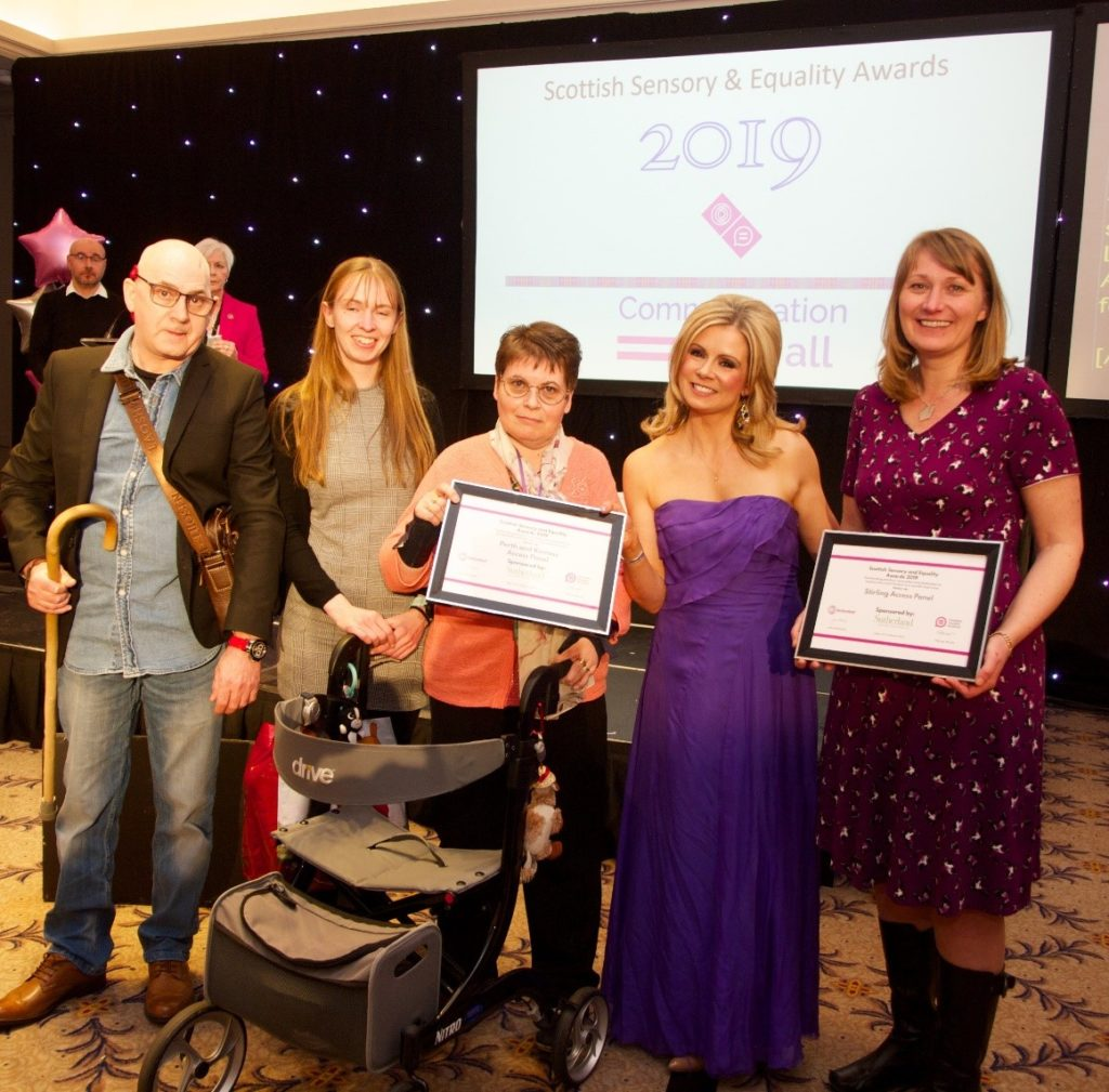 Access Panels recognised for their work on Inclusive Communication in Scotland